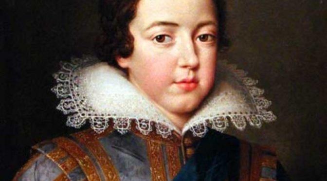 Pau, 12 novembre 2016 – L'enfance déchirée de Louis XIII, entre grandeur et solitude, une conférence de Frédéric Bidouze