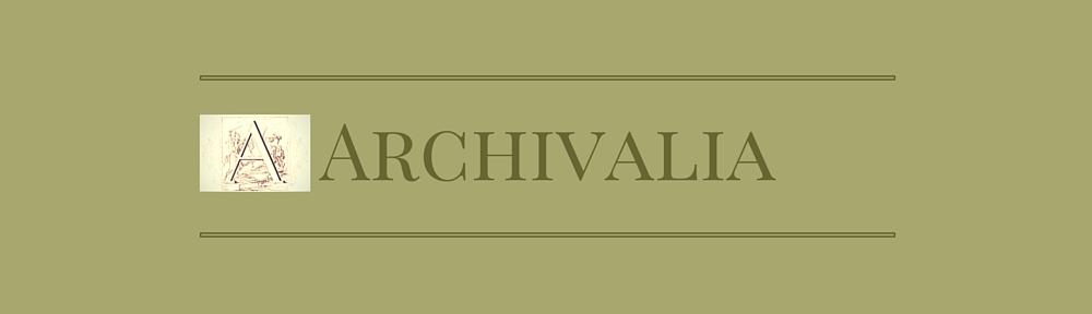 Bildergebnis für archivalia