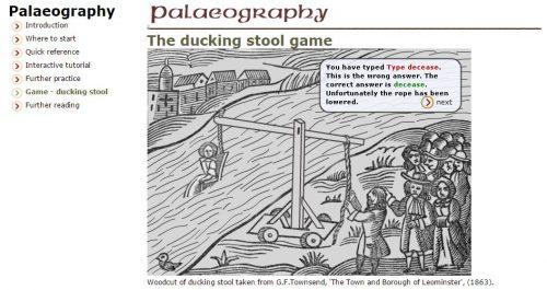 paleaeographiespiel