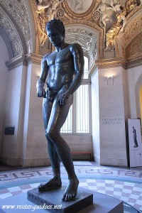 L'Apoxyomène de Croatie, exposé au Musée du Louvre, Paris, du 21 novembre 2012 au 25 février 2013.