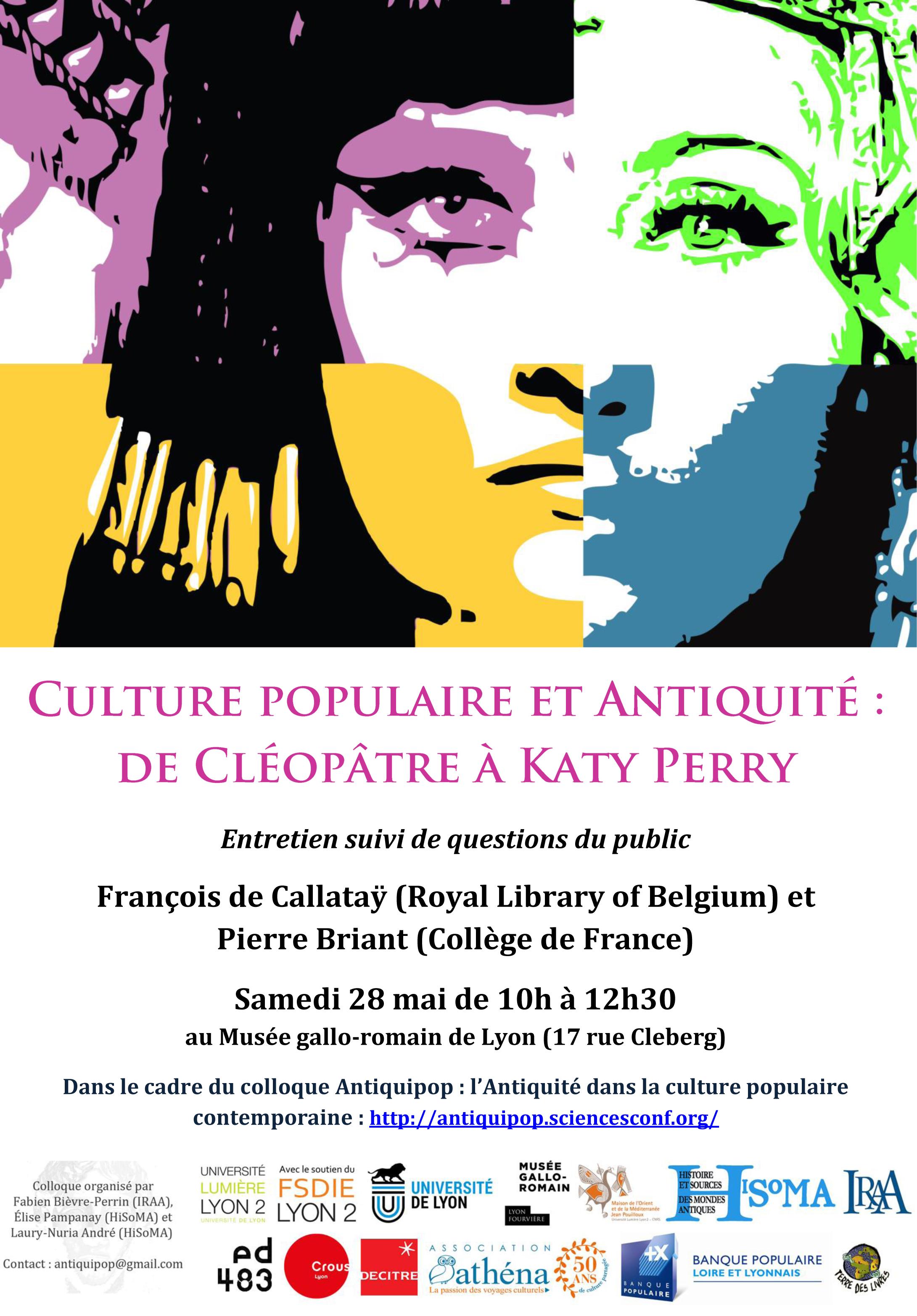 Culture populaire et Antiquité
