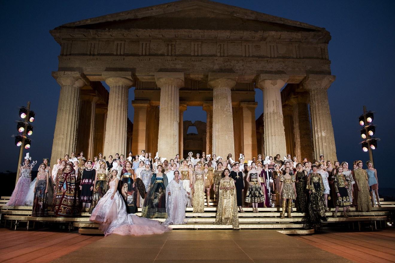 Et Dans Des Gabbana Temples La Vallée L'antique GlobaliséDolce uF5lc3T1KJ