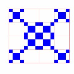 Fractals and Kronecker product