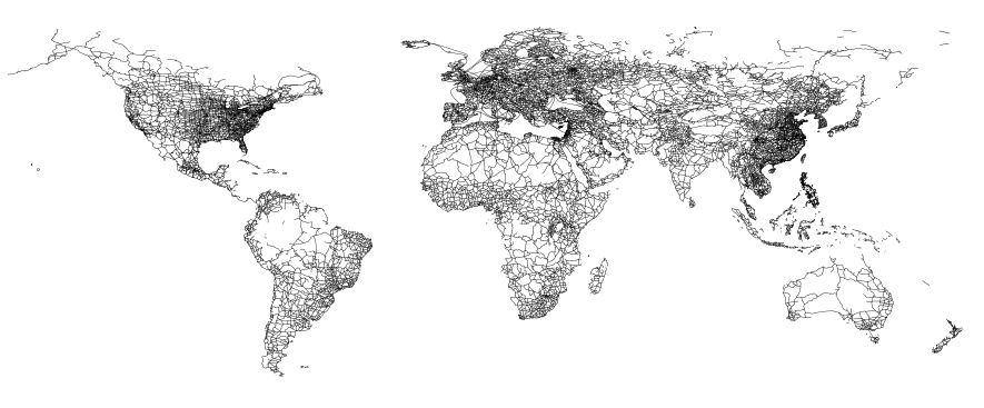 Minimalist Maps | Freakonometrics