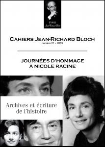 Cahier JR Bloch21 2015