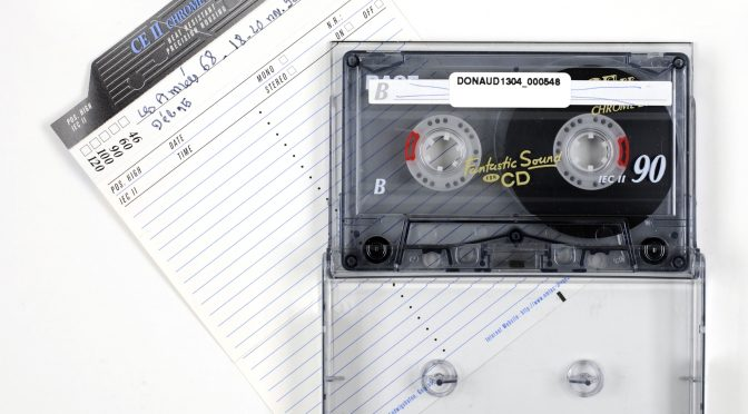 """""""La numérisation des archives orales de l'IHTP : un projet IHTP, BnF et plateforme Cocoon"""" par Valérie Hugonnard"""