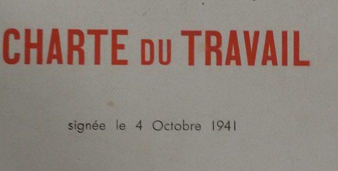 """« Vichy, la politique sociale, le corporatisme : le fonds """"État français"""" et la documentation de la bibliothèque de l'IHTP »"""