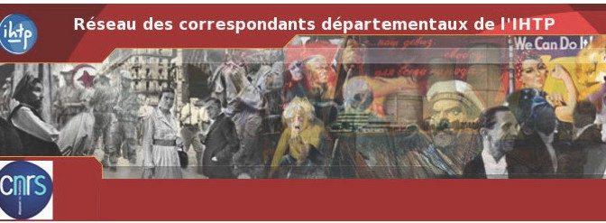 Nouvelle enquête du Réseau des correspondants de l'IHTP