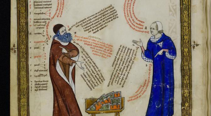 Mittelalterliche Sprechblasen