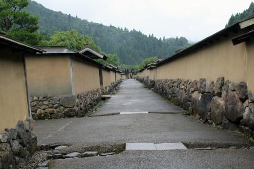 Murs entourant les résidences de guerriers