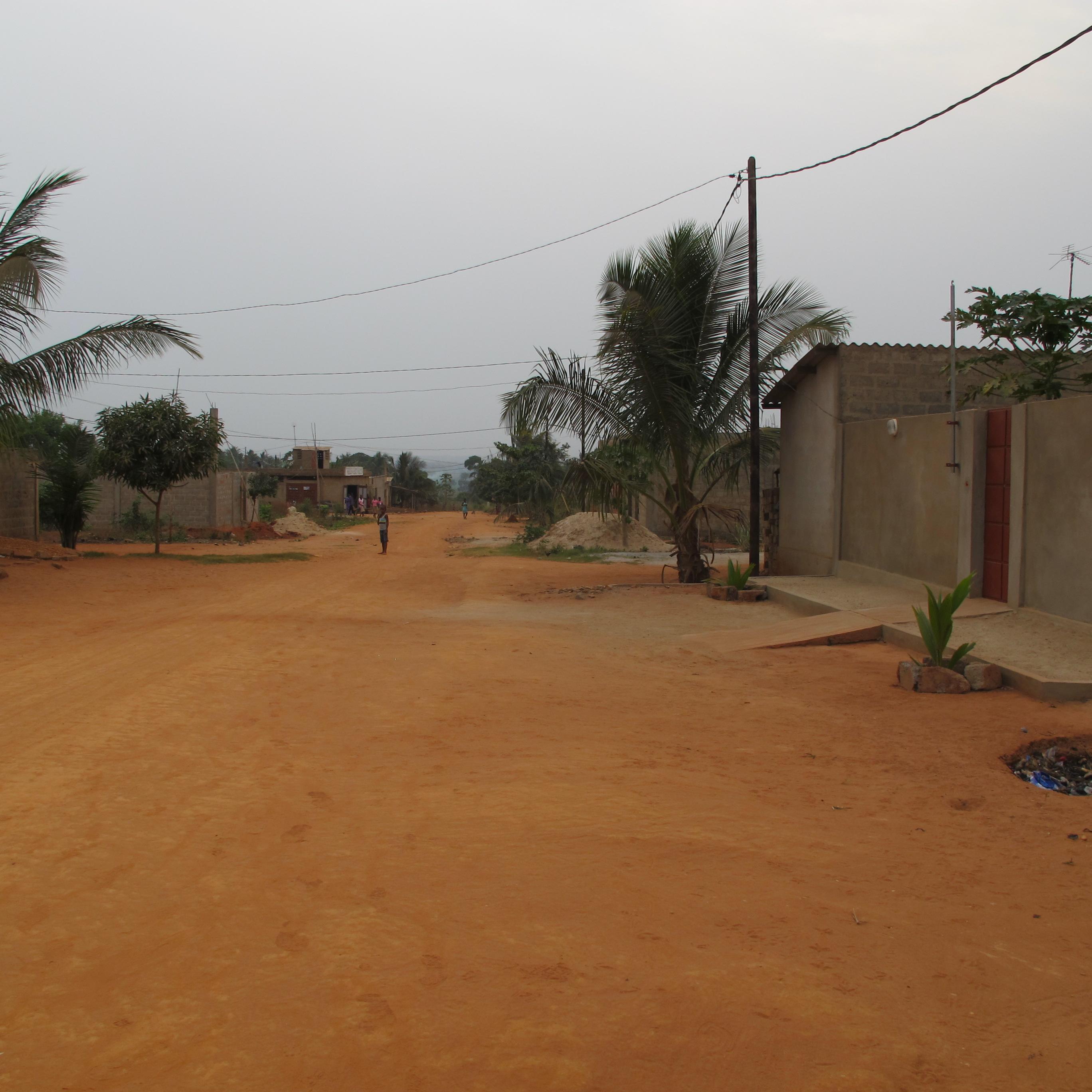 Panorama rue Djagblé