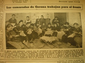 La Batalla, Barcelone, 28/02/1937