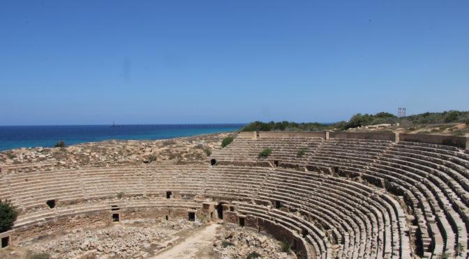 L'anfiteatro di Leptis Magna