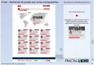 projet graphique de l'accès à la consultation des projets