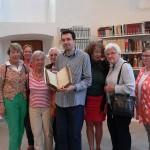 Frauen für Lemgo und Stadtarchivar Marcel Oeben im Stadtarchiv Lemgo (Foto: Miriam Schütze)