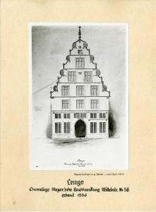 Mittelstraße 56, 1863 (Foto von einer Zeichnung von Emil Zeiß)
