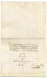 Brief Hermann Hermessen (StaL A 3672)