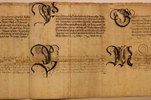 Schrifttafeln / Schriftproben Andreas von Sehlen (StaL S 830)