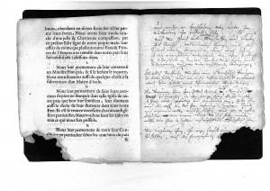 Lippisches Einladungspatent an die Hugenotten, 1686 (StaL SigBib 362)
