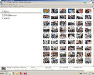 Ansicht der Bilddateien im Browser