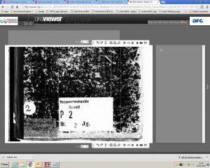 Digitalisat des jüdischen Personenstandsregisters Lemgo auf der Internetseite des Landesarchivs NRW/Archivportal NRW