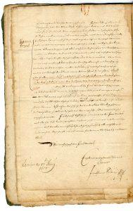 3. Brief des Jacob Henrich Zütterig an seine Schwiegermutter über die Lemgoer Hexenverfolgung (StaL A 2003)