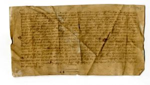 Urkunde vom 12. März 1442 (StaL U 429)