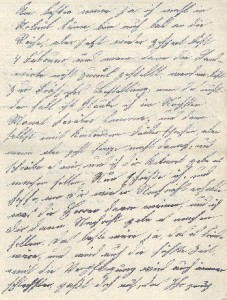 Heinrich Echtermeyer an seinen Bruder Bernhard Echtermeyer, Feldpostbrief vom 26. Januar 1918.