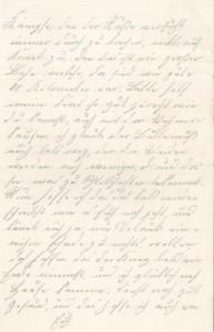 Brief Heinrich Echtermeyers an seinen Bruder, geschrieben am 20.8.1916. Seite 3.