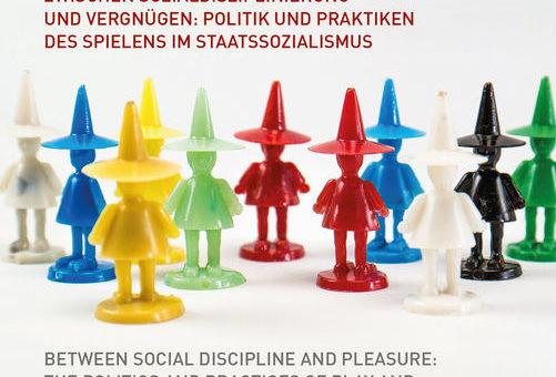"""Affiche du colloque """"Le jeu dans les États socialistes"""""""