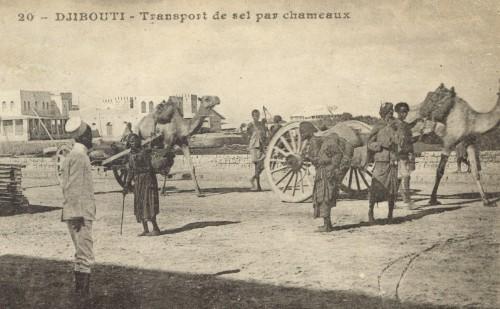 Le port de Djibouti (expédiée en mars 1920).