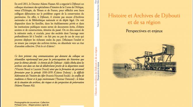 HISTOIRE ET ARCHIVES DE DJIBOUTI ET DE SA RÉGION