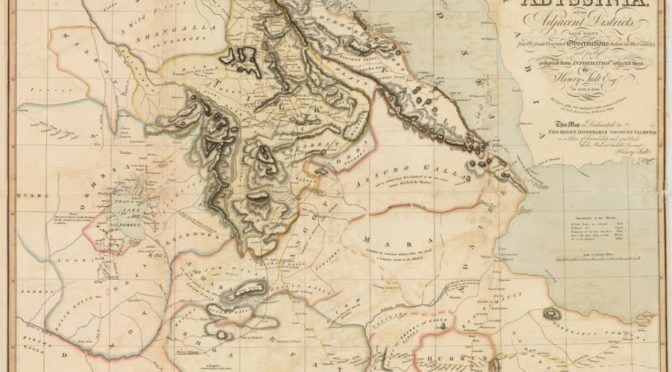 Traitements numériques et lectures critiques de cartes historiques: matériaux éthiopiens