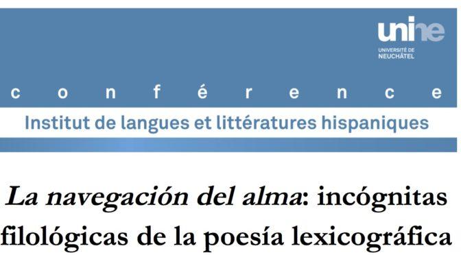 La Navegación del Alma: incógnitas filológicas de la poesía lexicográfica