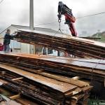 La livraison du bois