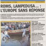 La Marseillaise papier - 13 octobre - page 1