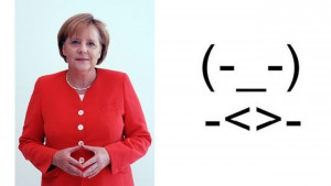 Angela Merkel emoji