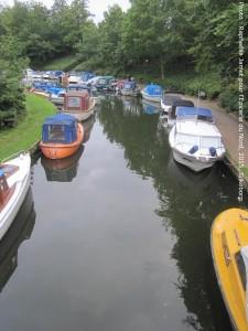 Petit port et canal à Silkeborg à 2 minutes à pied du Museum Jorn