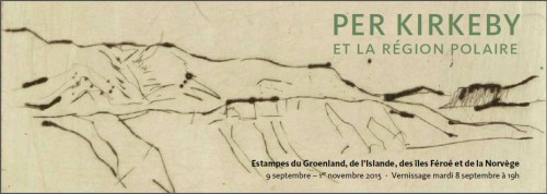 Invitation à l'exposition Per Kirkeby à la Maison du Danemark
