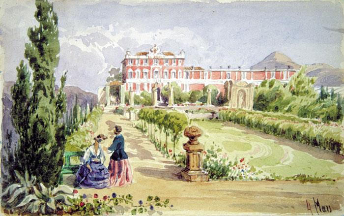Villa arson motifs for Jardin villa arson nice