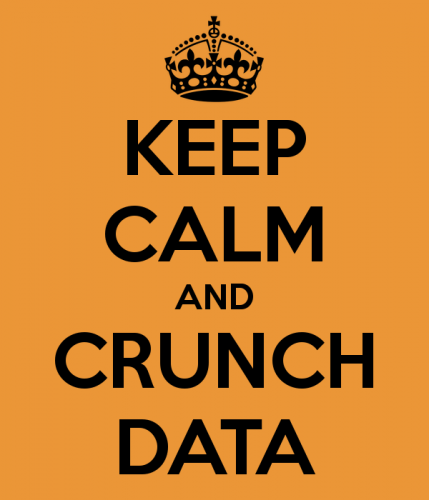 Keep calm and crunch data