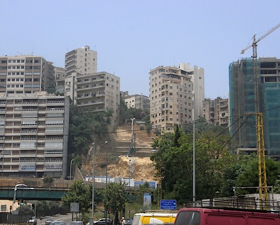 Beyrout, Achrafiyeh. Photo C. Pieri