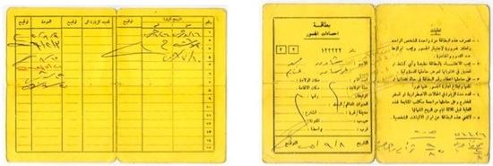 Cartes de statistiques des ponts (bitaqât ihsa'ât al-jusûr)