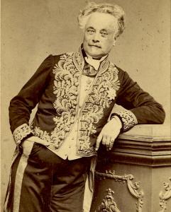 Félicien de Saulcy fut le premier archéologue à explorer les deux côtés de la Mer morte (1850) et à fouiller en Palestine (1863)