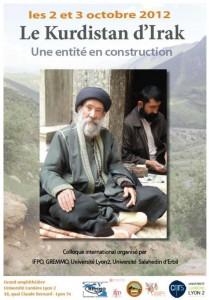 Affiche du colloque de Lyon