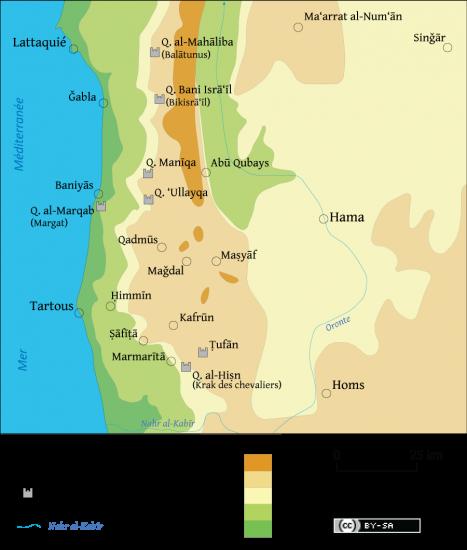 Le regroupement des Alaouites dans les montagnes côtières de Syrie ( XIe-XIIIe siècle)