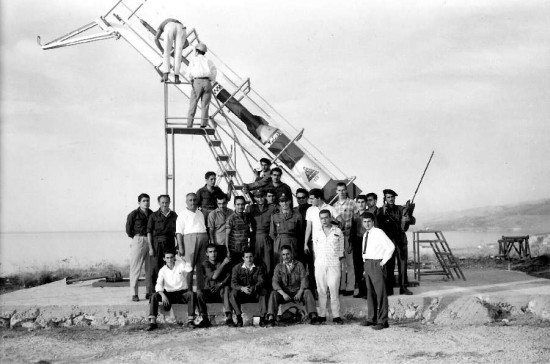 The Lebanese Rocket Society (source : http://hadjithomasjoreige.com/