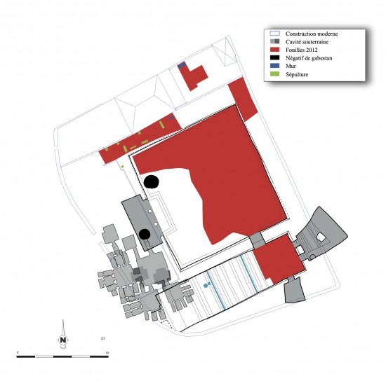 Plan général du Tombeau des Rois