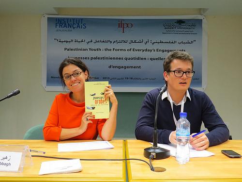 Myriam Catusse et Laurent Bonnefoy
