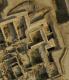 Exemple du système de drainage de surface mis en place dans le secteur de la tour 4 (nord-est) et s'évacuant dans le fossé (Y. Guichard©DAMK)